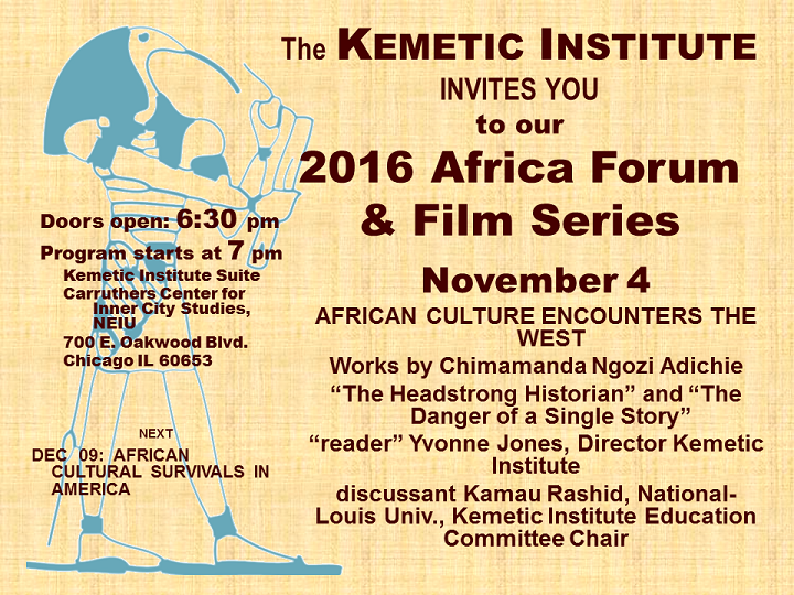 November 4 Africa Forum @ Carruthers Center for Inner City Studies   Chicago   Illinois   United States